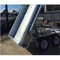 Wholesale 8x5 Galvanised Tandem Tipper Trailer 3200KG from china suppliers