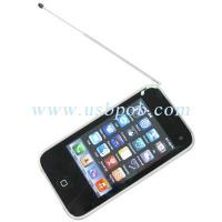 Wholesale 3.4 inch Quad Band Dual Card Dual Standby iPhone Style TV Phone i93GS with WIFI from china suppliers