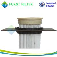 Quality FORST Industrial Polyester Material Pleated Bag Air Filter Manufacturer for sale