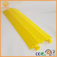 Quality Outdoor Cable Protectors Durable Light Duty 2 Channel Cable Flooring Protector for sale