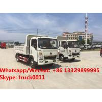 Wholesale Factory sale high quality and good price SINO TRUK HOWO Mini dump tipper truck, coal and stone transporting truck from china suppliers