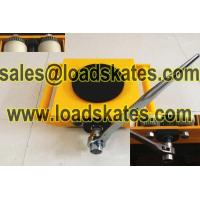 China Hand geared moving skates save labour intensity on sale
