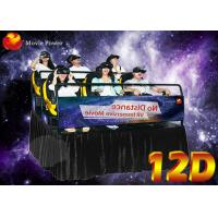 Wholesale Resourceful Interactive Virtual Reality 12D XD Movie Theatre With 6/8/9/12 Seater from china suppliers