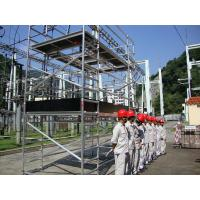 Quality OEM Light Weight Maintenance Aluminium Mobile Scaffold with aluminum alloy tubes for sale