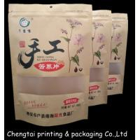 Wholesale Easy Carrying Durable Stand Up Pouch Packaging Paper Bags With Zipper / Window from china suppliers