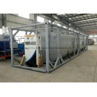 China Dong Run Refuel Tank Container 40 FT , ISO Mobile Gasoline Station Tank on sale