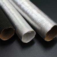 Wholesale Aluminium Hot Air Ducting Flexible Heat Resistant Car Engine Pipe for heatshield from china suppliers