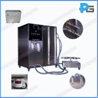 Wholesale IPX5 and IPX6 Waterproof Testing Machine environment test chamber Includes turntable Jet nozzle made by stainless steel from china suppliers