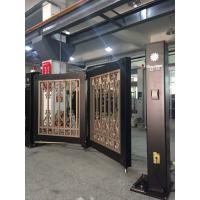Wholesale Powder Coated Automatic Swing Bi Folding Gate With Single Arm And Remote Control from china suppliers