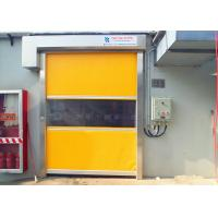 Wholesale Self Trouble - Shooting Recognizing System High Speed Doors Galvanized Steel from china suppliers