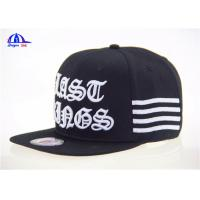 Fashion Hip-hop Baseball Cap / Customized Man Baseball Cap 100% Cotton