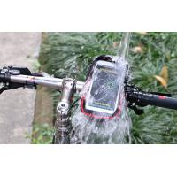 Quality Waterproof Bicycle Phone Case , Durable Bike Mobile Phone Bag 6.0 Inch for sale