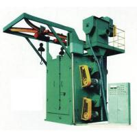 Wholesale Small Casting Two Hook Hanger Type Shot Blasting Machine Automatic Crawler Belt  Model from china suppliers