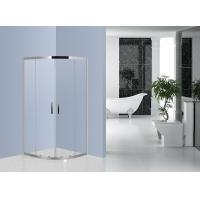 Wholesale 800mm x 800mm Quadrant Shower Enclosure Stainless Steel EN12150 Certificated from china suppliers