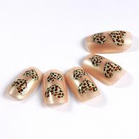 Quality Healthy adult Nail Art Fake Nails For Wedding , Heart pattern for sale