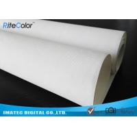 "Wholesale 44 "" Wide Format Waterproof Inkjet Cotton Canvas Glossy Printing for Poster from china suppliers"
