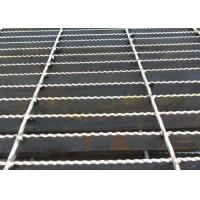 Wholesale Q235 Carbon Steel Bar Grating , Galvanised Steel Grating Flooring ISO9001 Approval from china suppliers
