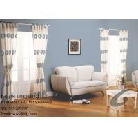 Wholesale Various Circles and Stripes extra long polyester window curtain contemporary from china suppliers