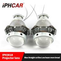 Wholesale IPHCAR New updated 3.0 inch D2H D2S HID high and low beam hid projector lens headlight for automotive motor from china suppliers