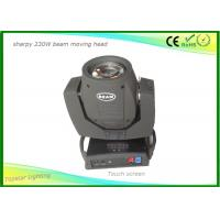 Wholesale Touch Screen Sharpy Moving Head Disco Lights , Christmas Dj Moving Head Lights 16 Prism from china suppliers