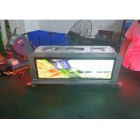 Wholesale Slim Advertising P3.33 Taxi Top Led Display Screen Weatherproof And Safe Cabinet from china suppliers