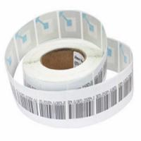 Wholesale 8.2MHz Anti Theft Supermarket RF Soft Label For Clothing 45 * 10.8mm from china suppliers