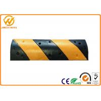 Wholesale Gas Station Heavy Duty Car Rubber Speed Bump With Reflective 1000 * 300 * 50mm from china suppliers