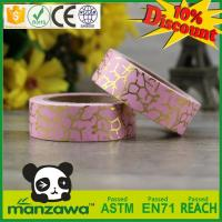 Wholesale DIY various patterns custom printed washi masking tape foil washi tape from china suppliers