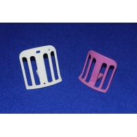Wholesale High Mechanical Strength White / Pink AL2O3 Textile Ceramic Parts Bulk Density ≥ 3.91 from china suppliers