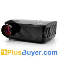 Wholesale DroidBeam - Android 4.2 HD Projector (3000 Lumens, 2000:1, WiFi, 1.5GHz Dual Core, Black) from china suppliers