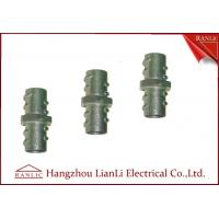 "Quality 1/2"" 3/4"" Screw Coupling Flexible Conduit Fittings , Custom Threaded Pipe Fittings for sale"