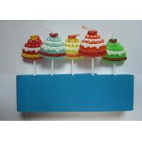 Wholesale Unscent Gift Pick Candles Christmas Hat Shape Drip - Less With Various Colors from china suppliers