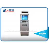 Wholesale IR Touch Screen Self Service Coin Counting Kiosk System With Card Dispenser from china suppliers