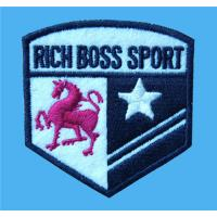 Wholesale Customized embroidered sports event logo patches,tailored embroidery crests to garments, from china suppliers