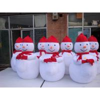 Wholesale OEM Cute Kids Snowman Mascot Costume for Theme Park from china suppliers