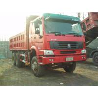 Quality 6 wheel Tipper Dump Truck Front Lifting For Base Rock Topsoil Asphalt for sale
