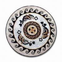 Buy cheap Marble Tile in Mosaic Pattern, Used as Wall and Floor Decorations from wholesalers