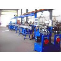 Wholesale Automatic SJ45 / SJ65 Plastic Coating Machine Extrusion Line High Efficiency from china suppliers