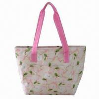 Buy cheap Cooler Bag, Made of Microfiber with PEVA Lining and 3mm Foam Padded, One Front from wholesalers