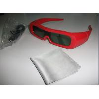 Wholesale Red Universal Active Shutter 3D TV Glasses Reaction LCD Lenses from china suppliers