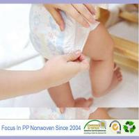 Wholesale PP nonwoven fabric for baby diaper, sanitary napkin from china suppliers