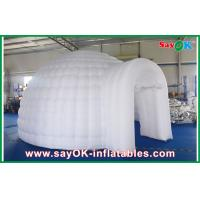 Wholesale Led Lights Inflatable Air Tent , Diameter 5m Inflatable Dome Tent from china suppliers