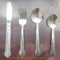 Wholesale Middle East Popular Low Grade 410 Stainless Steel Cutlery Set from china suppliers