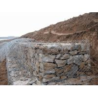 Wholesale Gabion Wire Mesh Decorative Gabion Baskets For Water / Soil Protection from china suppliers