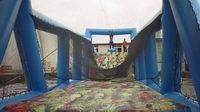 Wholesale Children Crazy Zip Line Inflatable Obstacle For Event Rental and Party Hire Games from china suppliers