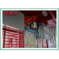 Quality Electric Construction Site Passenger And Material Hoist With 1 Ton Capacity for sale