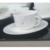 Wholesale International certification SGS/CE 9904 custom more than 40%Ashes bone china coffee mug and plate from china suppliers