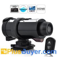 Wholesale Poseidon - Waterproof HD Sports Action Video Camera (720P@30FPS, Remote, HDMI) from china suppliers