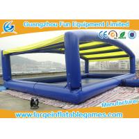 Wholesale Plato PVC Inflatable Water Pool With Removable Inflatable Tent , CE Certification 10*6m from china suppliers