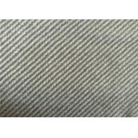 Wholesale Various Types Certified Wool Striped Fabric Wool Mix Fabric OEM Welcome from china suppliers